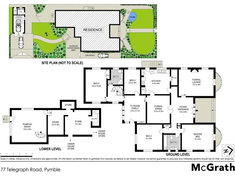 77 Telegraph Road, Pymble NSW 2073 Floorplan
