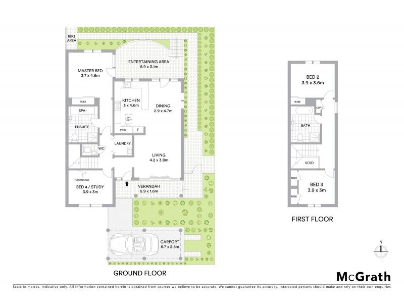 3/1 Turramurra Avenue, Turramurra NSW 2074 Floorplan
