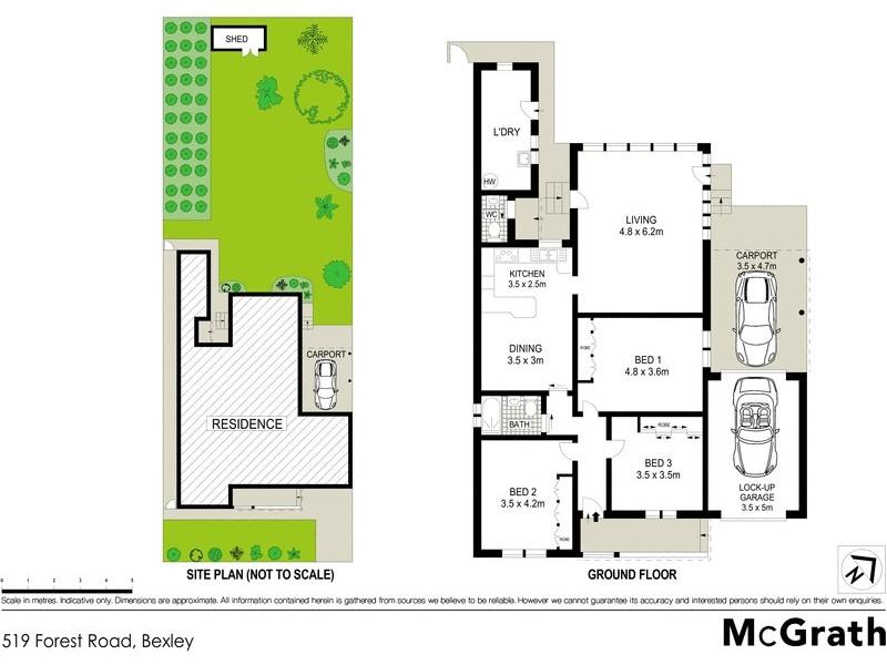 519 Forest Road, Bexley NSW 2207 Floorplan