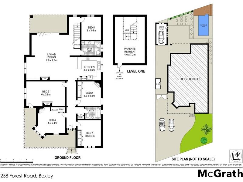 258 Forest Road, Bexley NSW 2207 Floorplan