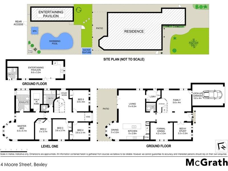 4 Moore Street, Bexley NSW 2207 Floorplan