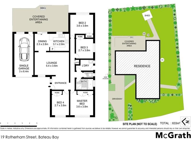 19 Rotherham Street, Bateau Bay NSW 2261 Floorplan