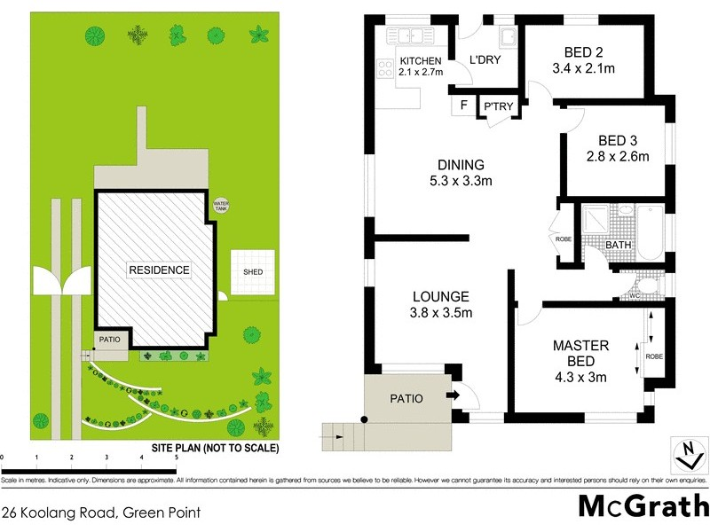 26 Koolang Road, Green Point NSW 2251 Floorplan