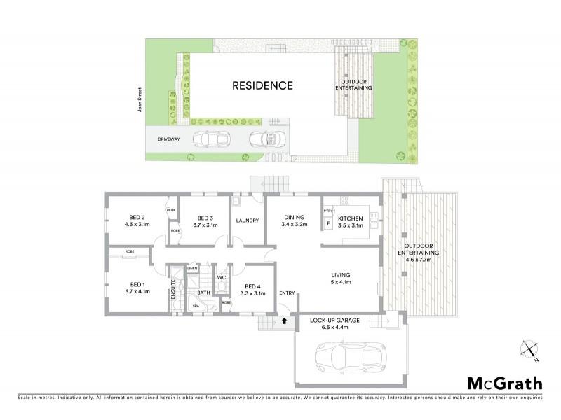 23 Joan Street, Forresters Beach NSW 2260 Floorplan