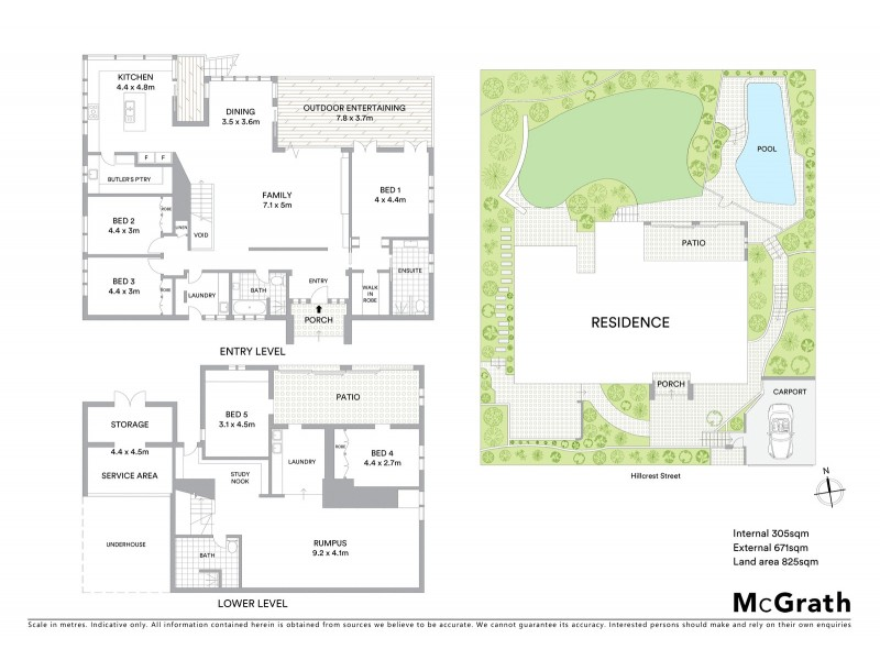 25 Hillcrest Street, Terrigal NSW 2260 Floorplan