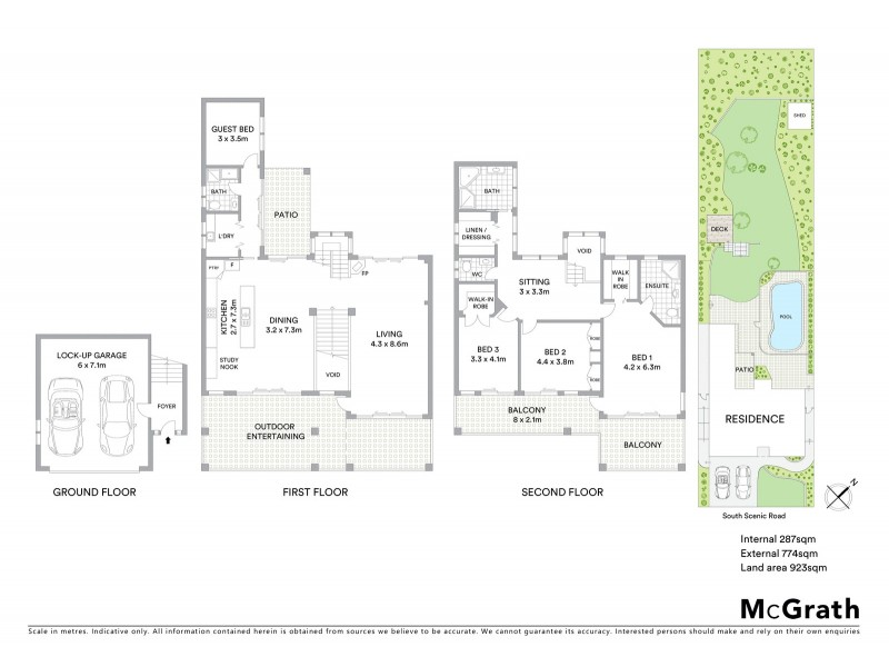 3 South Scenic Road, Forresters Beach NSW 2260 Floorplan
