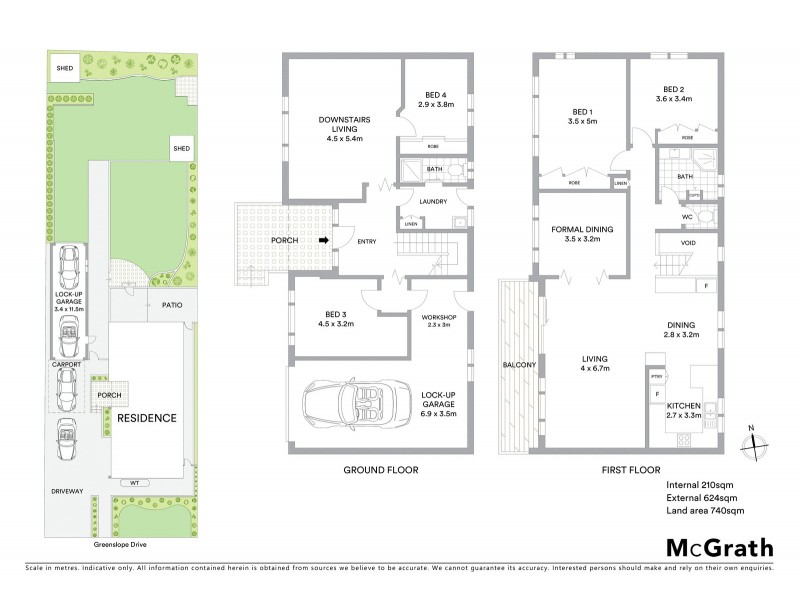 3 Greenslope Drive, Green Point NSW 2251 Floorplan