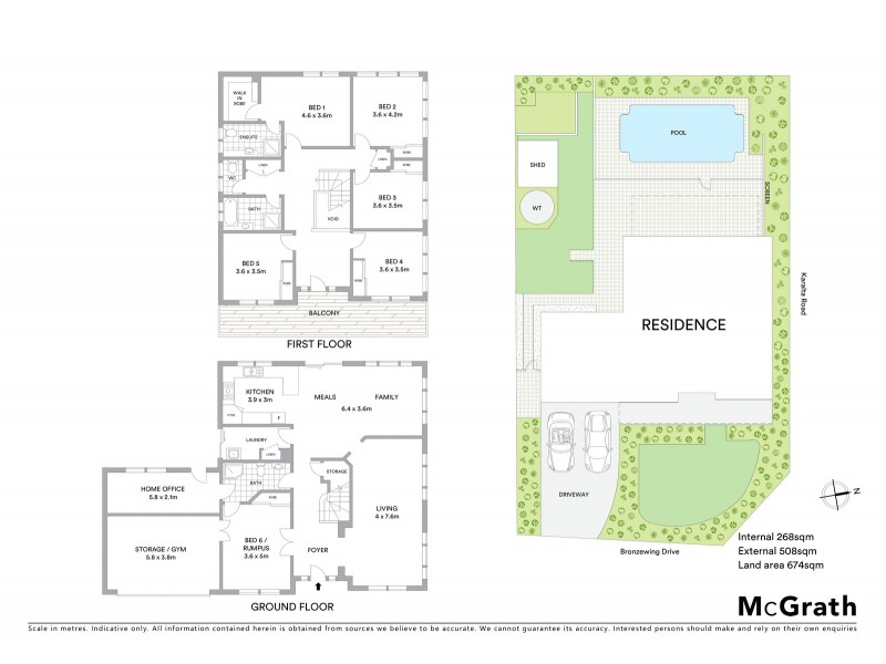 2 Bronzewing Drive, Erina NSW 2250 Floorplan