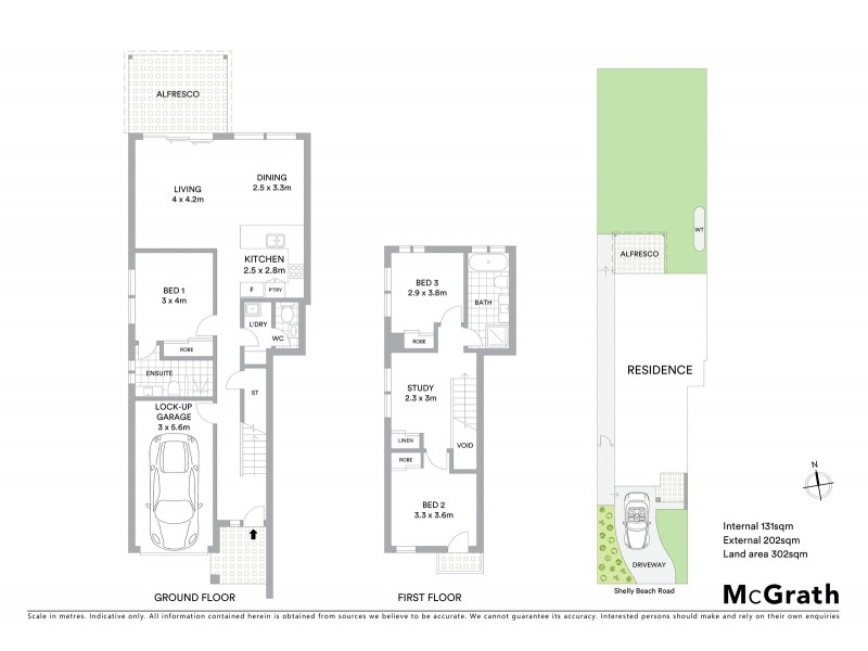 74 Shelly Beach Road, Shelly Beach NSW 2261 Floorplan