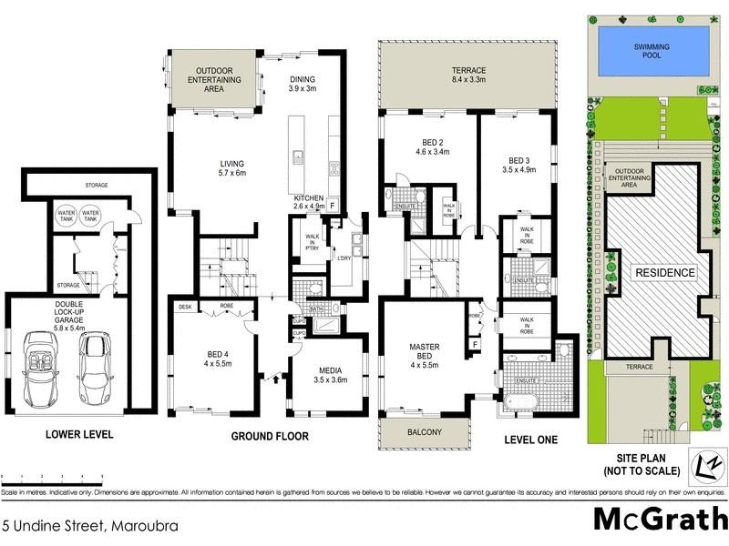 5 Undine Street, Maroubra NSW 2035 Floorplan
