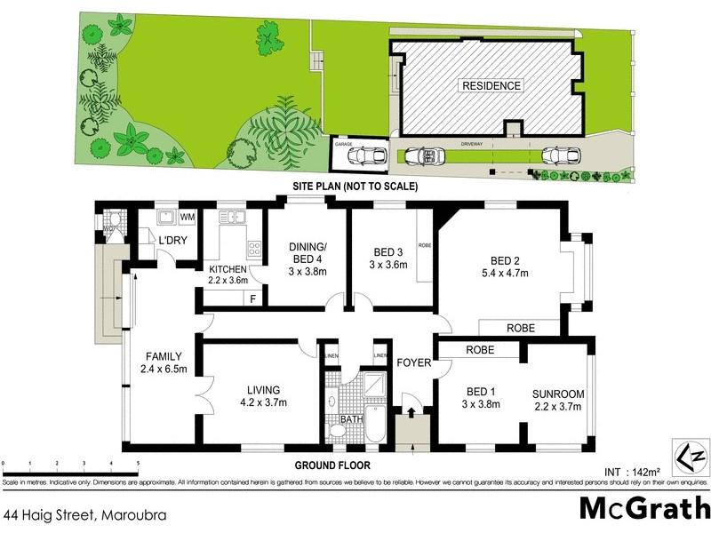 44 Haig Street, Maroubra NSW 2035 Floorplan