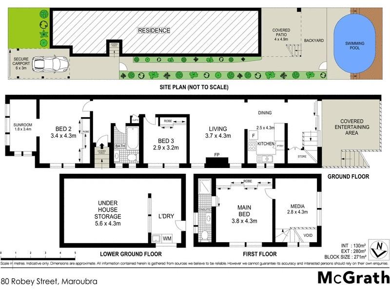 80 Robey Street, Maroubra NSW 2035 Floorplan