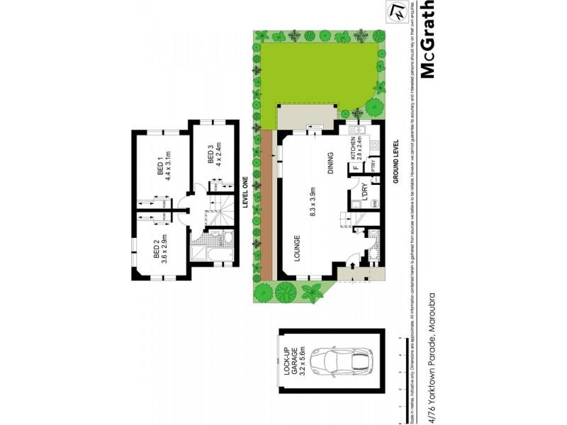 4/76 Yorktown Parade, Maroubra NSW 2035 Floorplan