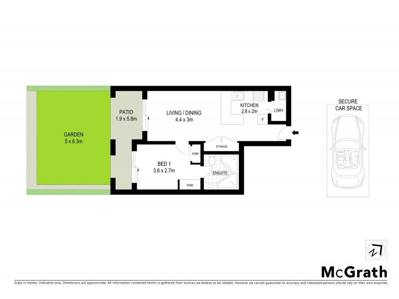 107/34 Alison Road, Randwick NSW 2031 Floorplan
