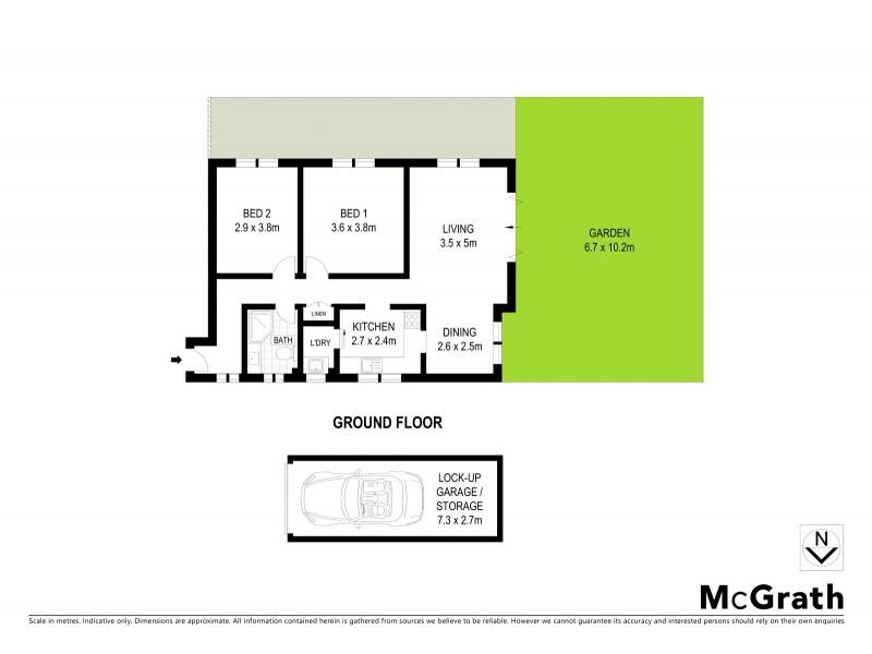 6/326 Arden Street, Coogee NSW 2034 Floorplan