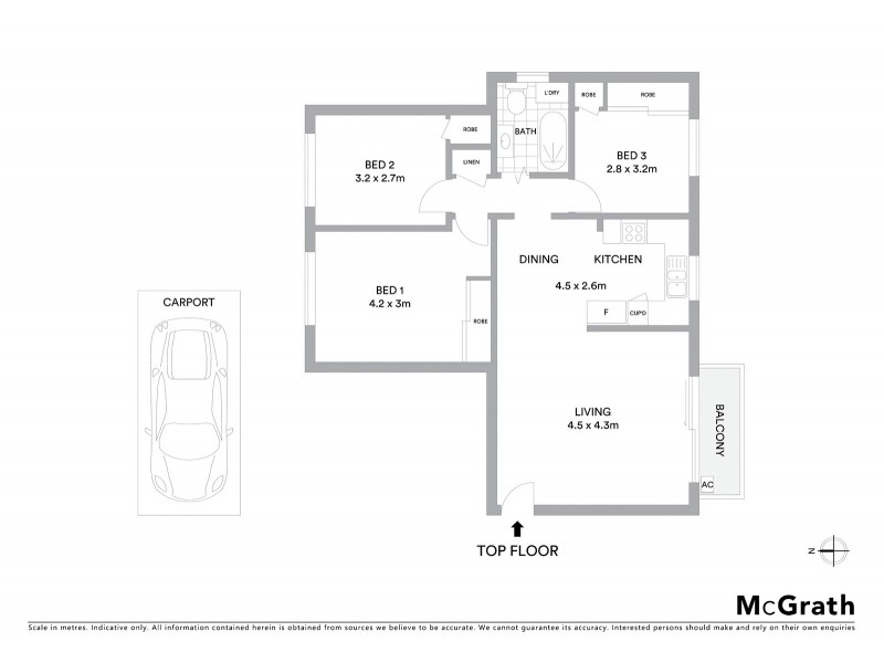 9/4 Flack Avenue, Hillsdale NSW 2036 Floorplan