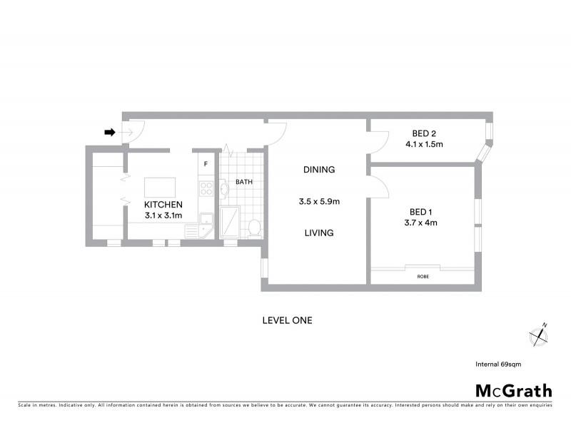 6/84 Belmore Road, Randwick NSW 2031 Floorplan