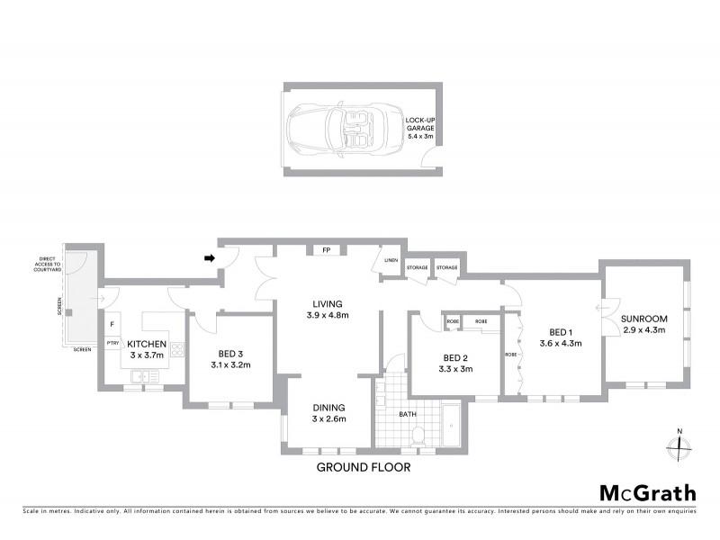2/5 Albert Street, Randwick NSW 2031 Floorplan