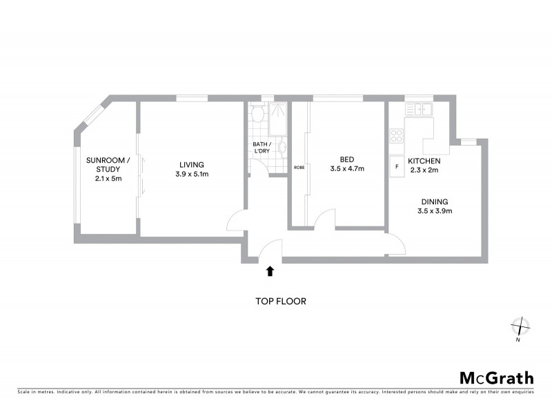 10/510 New South Head Road, Double Bay NSW 2028 Floorplan