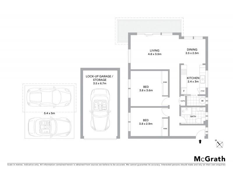 19/326 Arden Street, Coogee NSW 2034 Floorplan