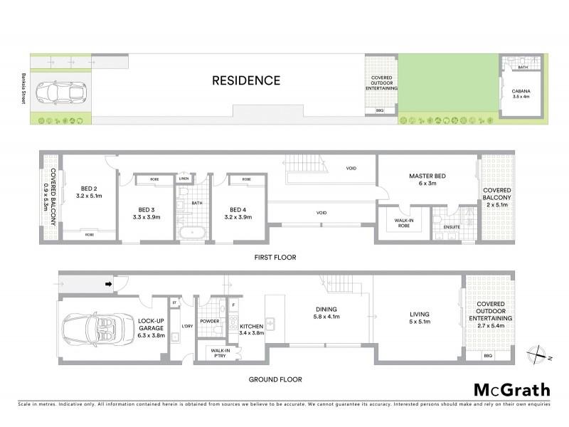 124A Banksia Street, Botany NSW 2019 Floorplan