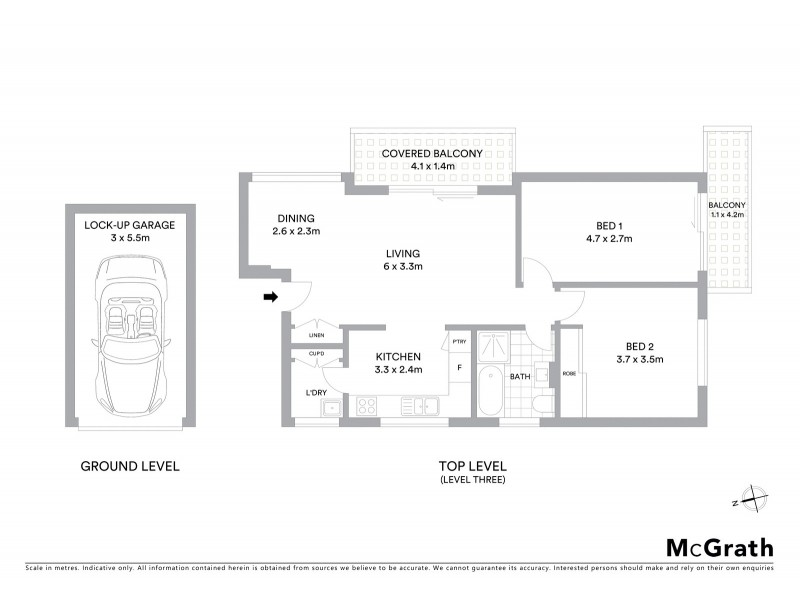 9/62 Maroubra Road, Maroubra NSW 2035 Floorplan