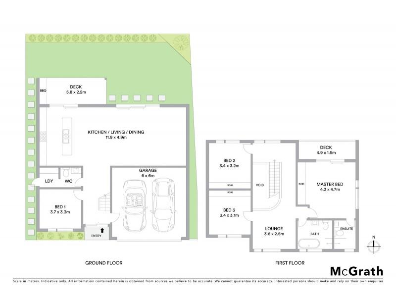 14B Herford Street, Botany NSW 2019 Floorplan