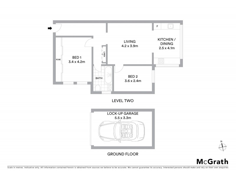 17/251 Carrington Road, Coogee NSW 2034 Floorplan