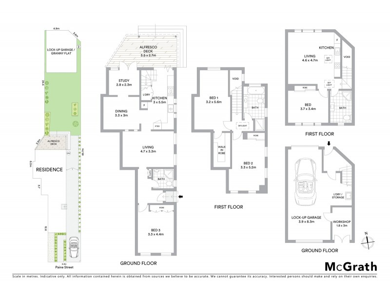6 Paine Street, Maroubra NSW 2035 Floorplan