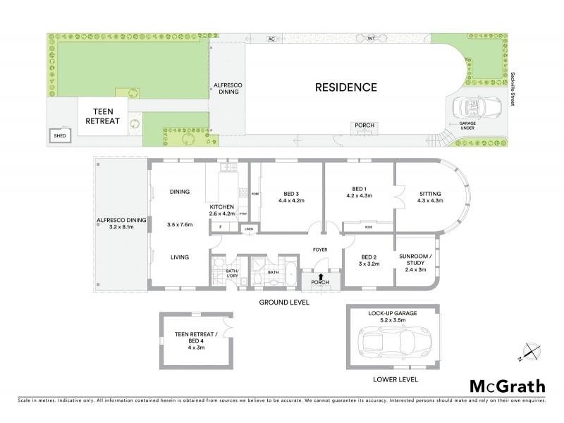 42 Sackville Street, Maroubra NSW 2035 Floorplan