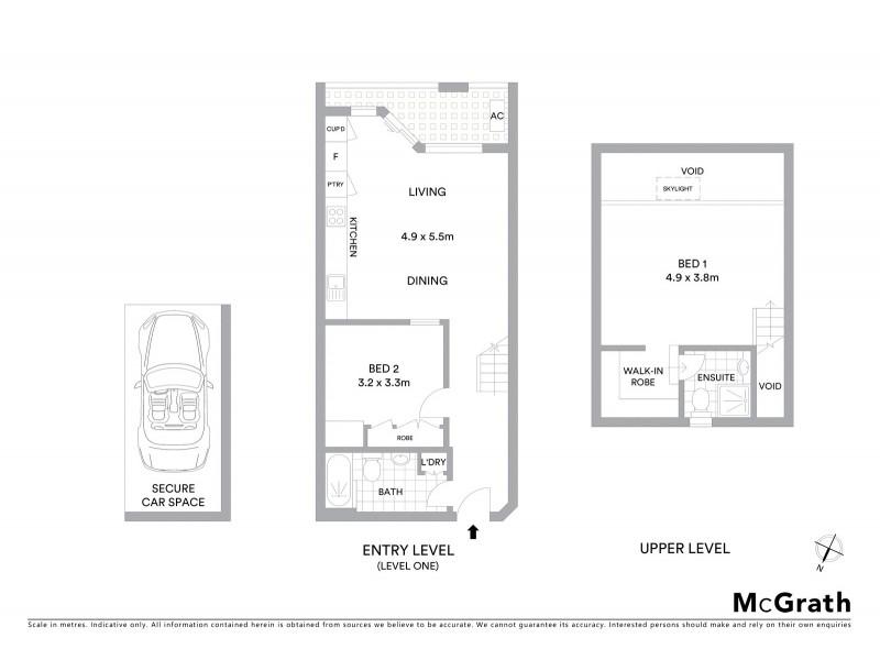 11/280 Bronte Road, Waverley NSW 2024 Floorplan