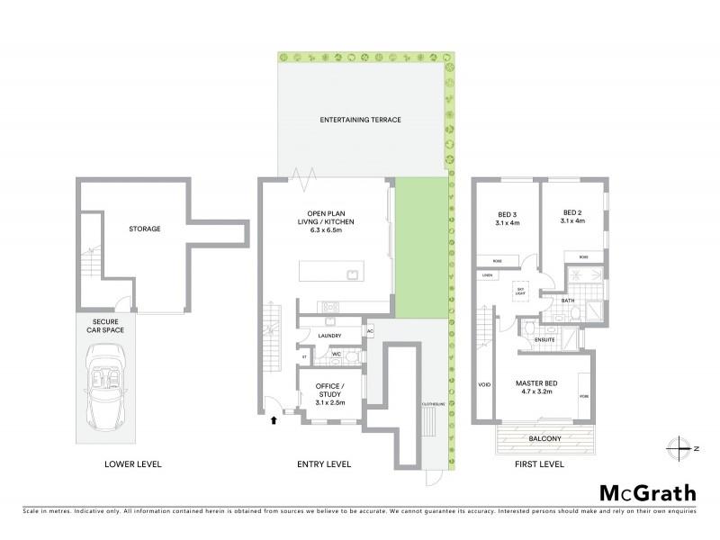 4/32 Beach Street, Coogee NSW 2034 Floorplan