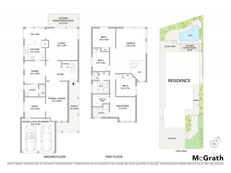 8 Ireton Street, Malabar NSW 2036 Floorplan