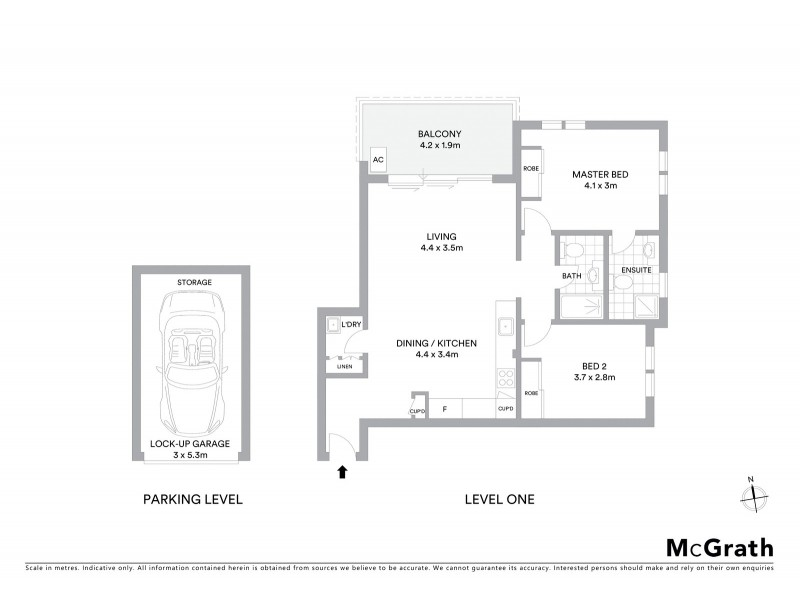 16/257 Carrington Road, Coogee NSW 2034 Floorplan
