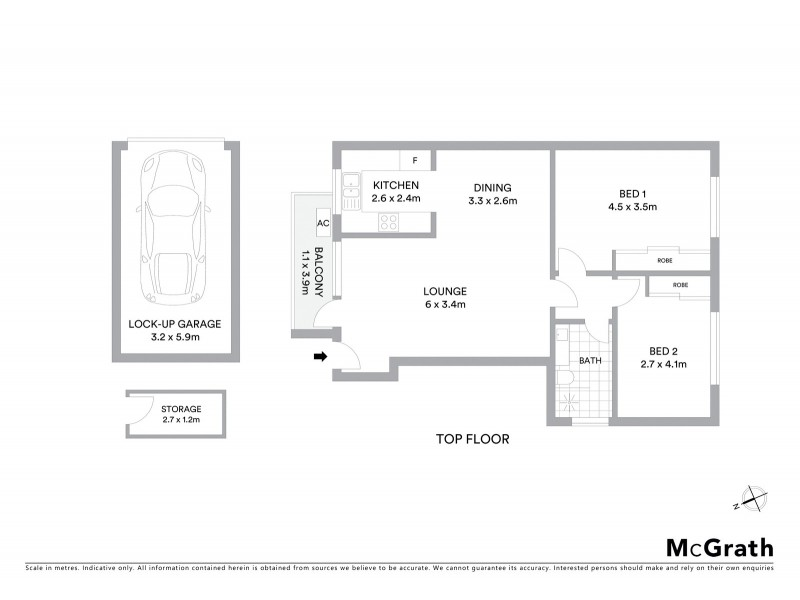 11/49 Coogee Bay Road, Randwick NSW 2031 Floorplan