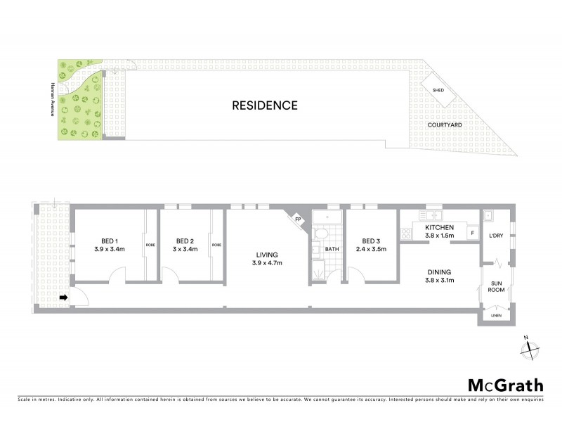 85 Hannan Street, Maroubra NSW 2035 Floorplan