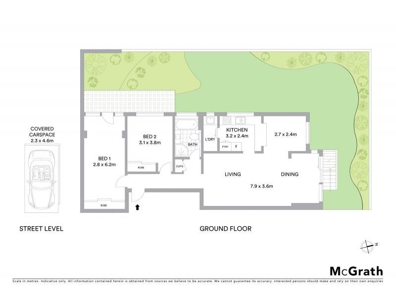 1/247 Oberon Street, Coogee NSW 2034 Floorplan