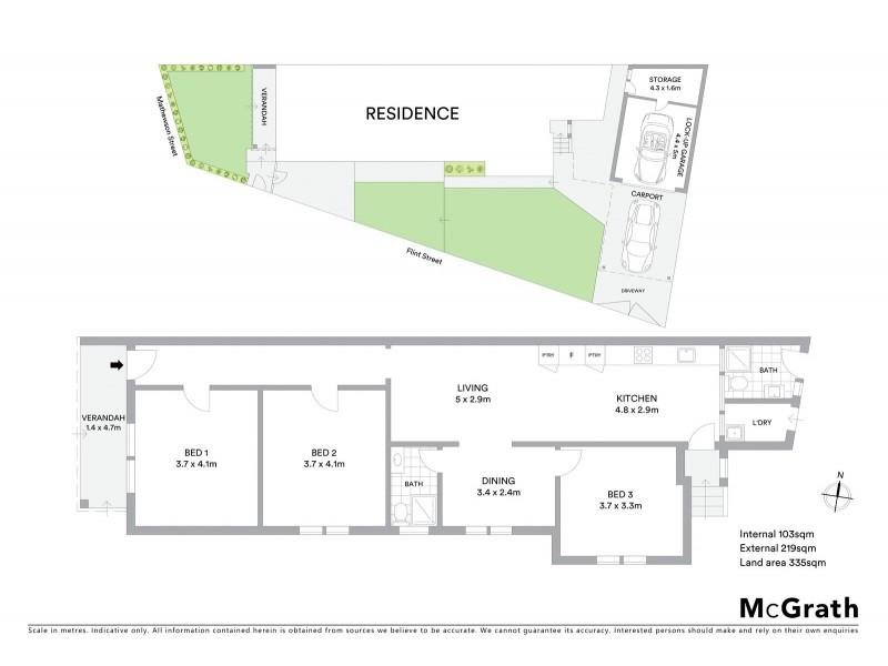 1 Mathewson Street, Eastgardens NSW 2036 Floorplan