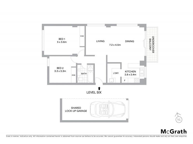 30/23 Baden Street, Coogee NSW 2034 Floorplan