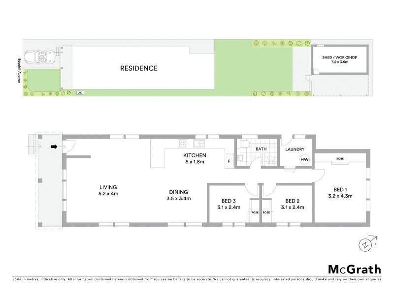 28 Edgehill Avenue, Botany NSW 2019 Floorplan