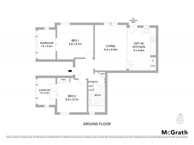 1/82 Alison Road, Randwick NSW 2031 Floorplan