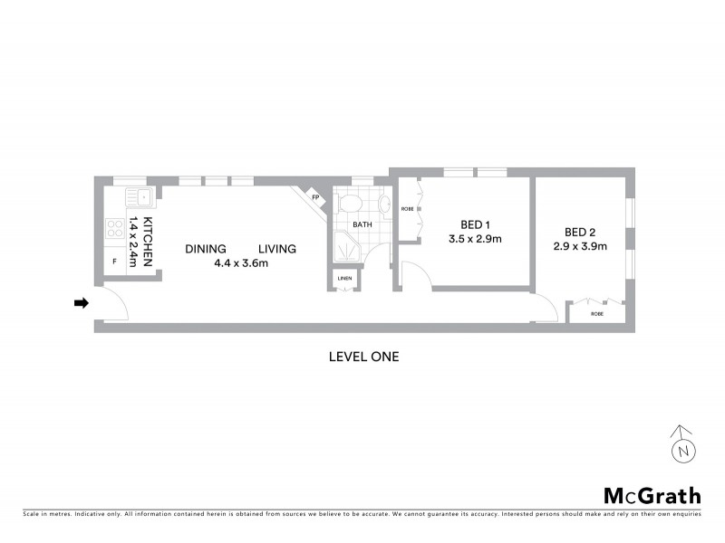 5/623 Anzac Parade, Maroubra NSW 2035 Floorplan