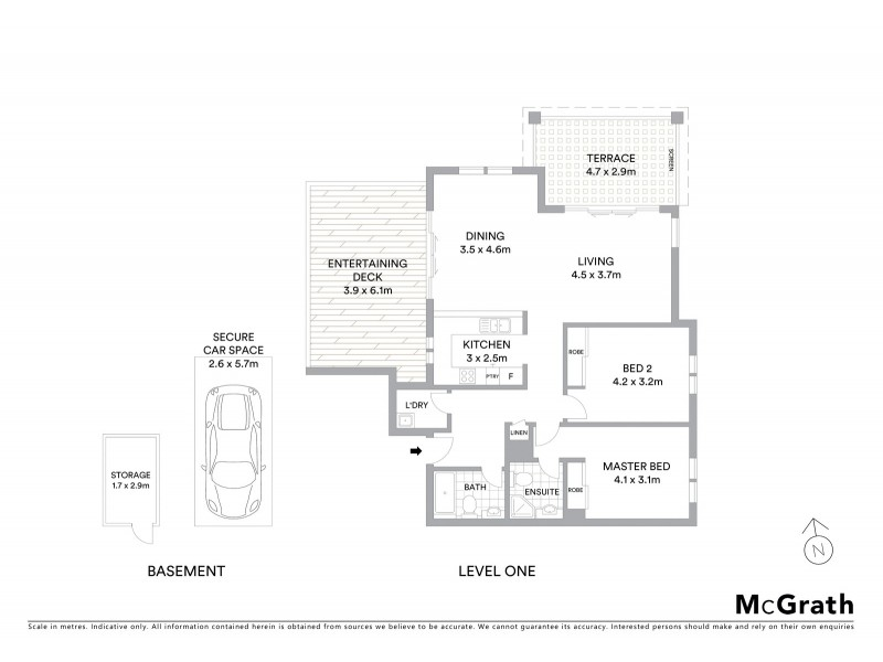8/10 Bay Street, Coogee NSW 2034 Floorplan
