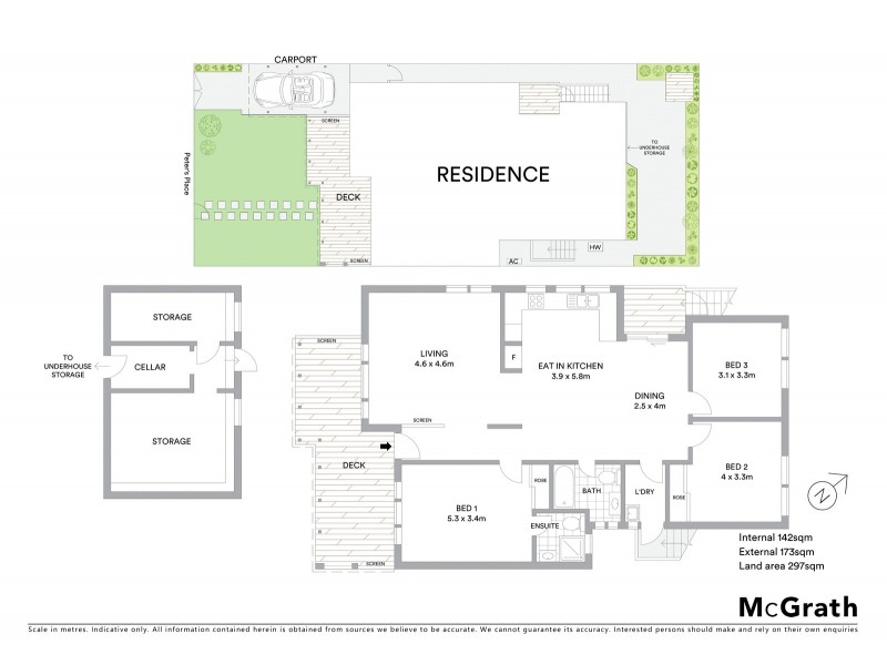 25 Peters Place, Maroubra NSW 2035 Floorplan