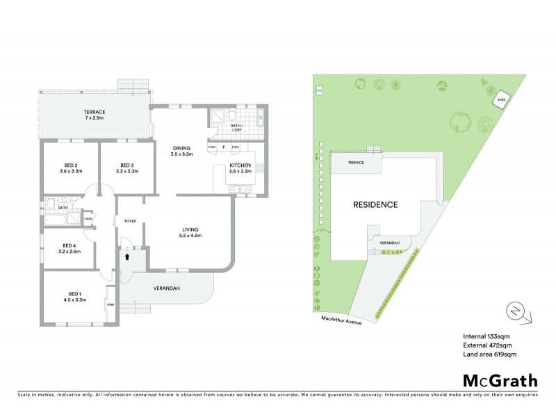 10 Macarthur Avenue, Pagewood NSW 2035 Floorplan