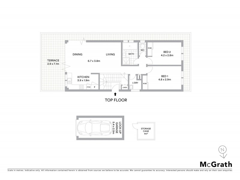 5/180 Coogee Bay Road, Coogee NSW 2034 Floorplan