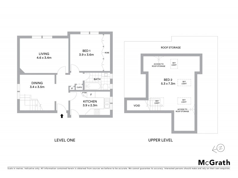 4/52 Bishops Avenue, Randwick NSW 2031 Floorplan