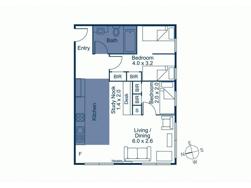 38/16-18 Poplar Street, Box Hill VIC 3128 Floorplan