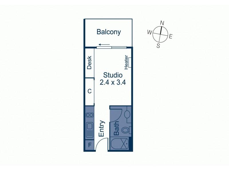 24/16-18 Poplar Street, Box Hill VIC 3128 Floorplan