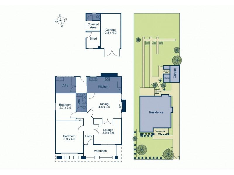 10 Hannaslea Street, Box Hill VIC 3128 Floorplan